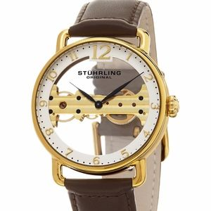 Stuhrling Original NIB Mechanical Bridge Watch